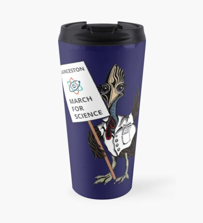 March for Science Launceston – Cassowary, full color Travel Mug