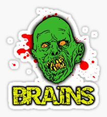 BRAINS! Sticker