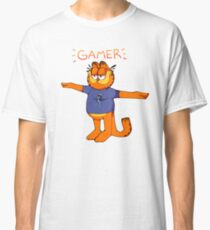 Garfield T Pose / Crazy Frog Classic T-Shirt