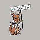 March for Science Launceston – Kangaroo, full color by sciencemarchau