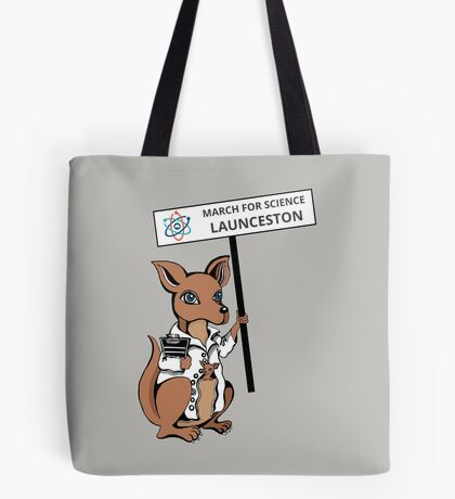 March for Science Launceston – Kangaroo, full color Tote Bag