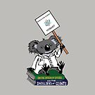 March for Science Hobart – Koala, black by sciencemarchau