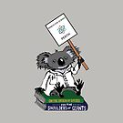 March for Science Perth – Koala, full color by sciencemarchau