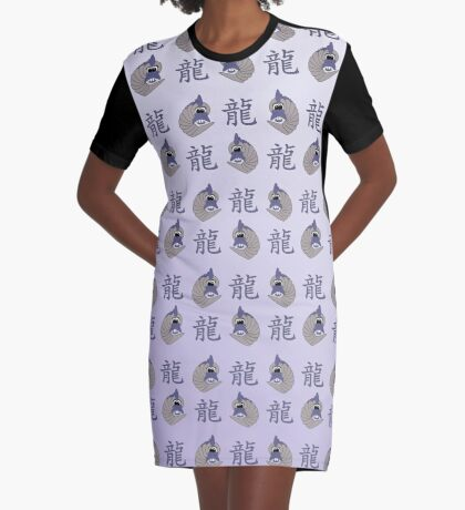 chinesisches Jahr des Drachen - 2024 T-Shirt Kleid