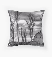 Winter Pruning Throw Pillow