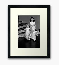 Wedding Children Framed Print
