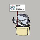 March for Science Australia – Shark, full color by sciencemarchau