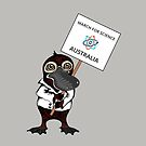 March for Science Australia – Platypus, full color by sciencemarchau