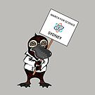 March for Science Sydney – Platypus, full color by sciencemarchau
