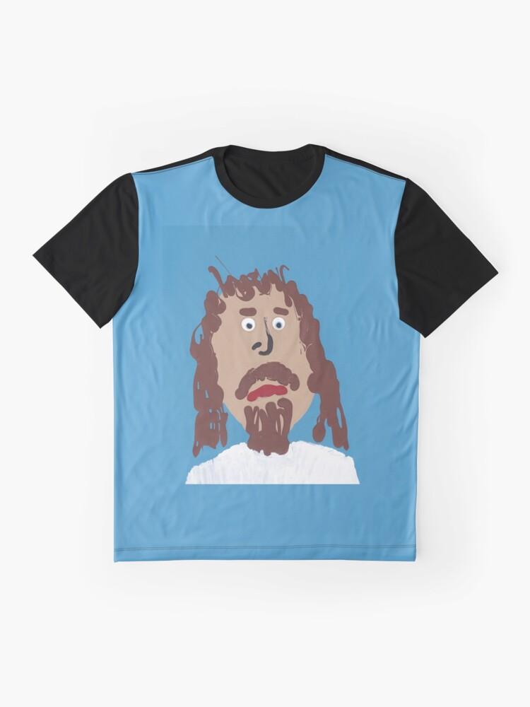 T-shirt graphique ''Jésus': autre vue