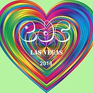 Electric Daisy Carnival Heart by FrankieCat
