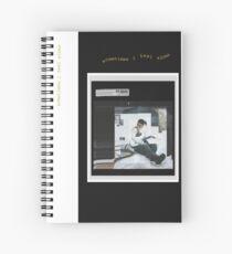 KPOP DEAN INSTAGRAM Spiral Notebook