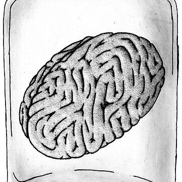 Brain Jar by RowynGolde