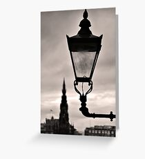 Lighting Up Edinburgh Greeting Card