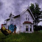 EVEN THE OLD ROOSTER WAS ABANDONED by Tammera