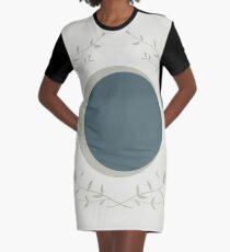 Moon Graphic T-Shirt Dress