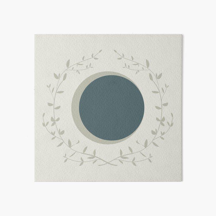 Moon Art Board Print