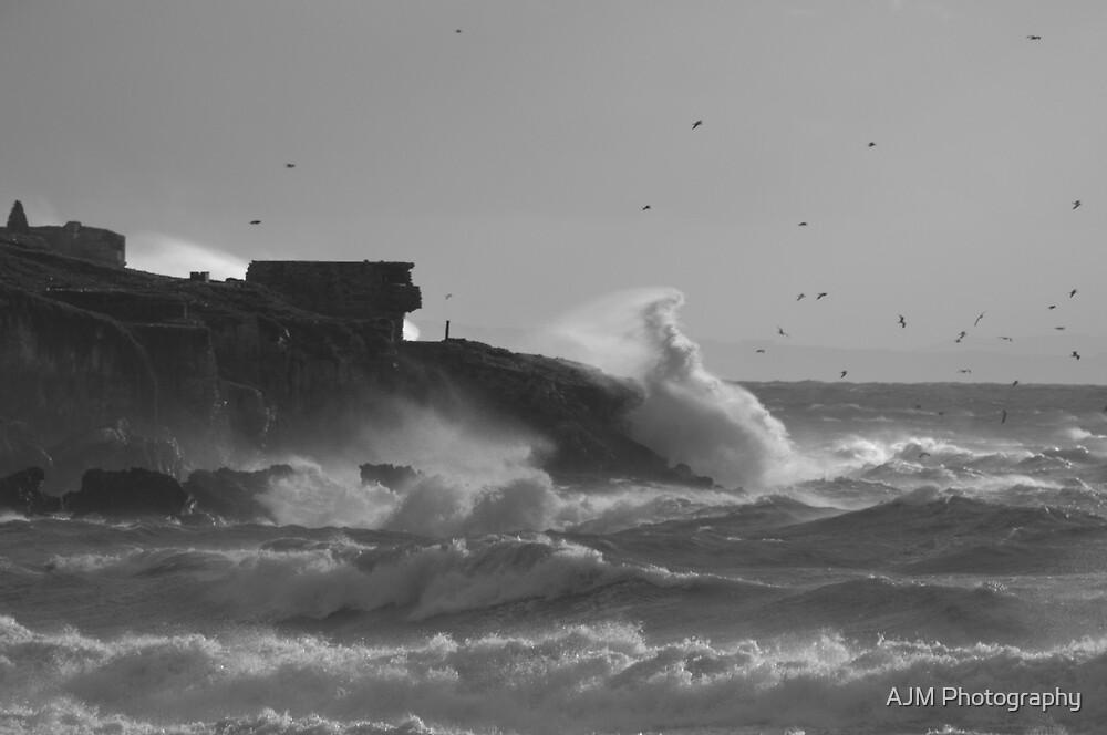 Rough Seas by AJM Photography