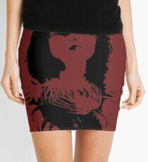 Bound and Blind Mini Skirt