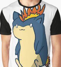Cute Quilava Graphic T-Shirt