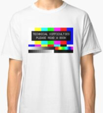 Please read a book Classic T-Shirt