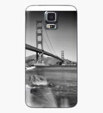 Golden Gate Bridge mit Brandung  Hülle & Skin für Samsung Galaxy
