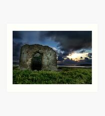 Instow Lookout Tower Art Print