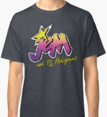 Distressed Vintage Look Jem und die Hologramme Classic T-Shirt