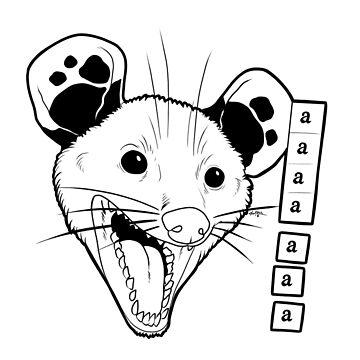 Aaaaaaaa awesome possum by Teufelhund