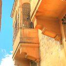Balcony in Mdina by Rosalie M