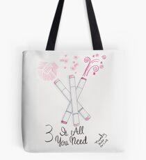 Three Marker Challenge Tote Bag