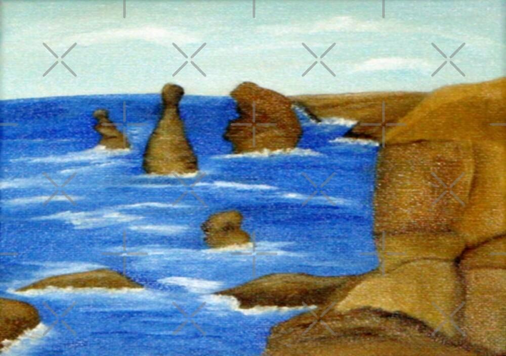 12 Apostles, Vic. Australia  by C J Lewis