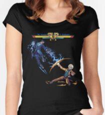 Nikola Tesla Vs. Thomas Edison - AC/DC - Elon Musk Women's Fitted Scoop T-Shirt
