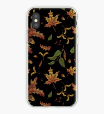 spring embroidered iPhone Case