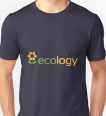 Ecology inscription T-Shirt