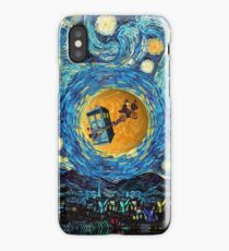 4th Doctor Supermoon starry night iPhone Case