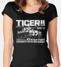 Tiger II Women's Fitted Scoop T-Shirt