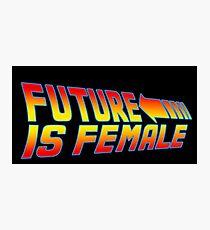 Future is Female Photographic Print