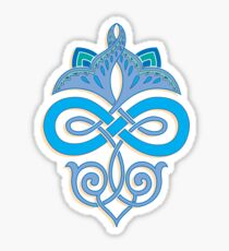 Ornamental design Sticker