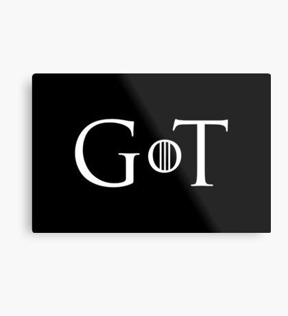 GoT Metal Print