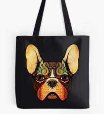little bulldog Tote Bag