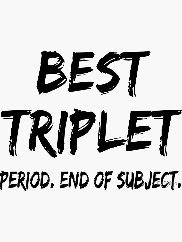 Best Triplet Period End of Subject de GoOsiris