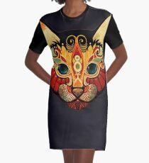 the cat T-Shirt Kleid