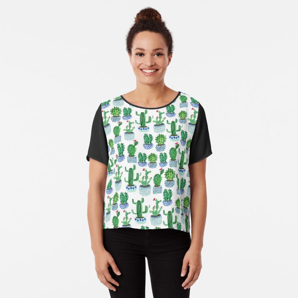 Cactus en acuarela Blusa