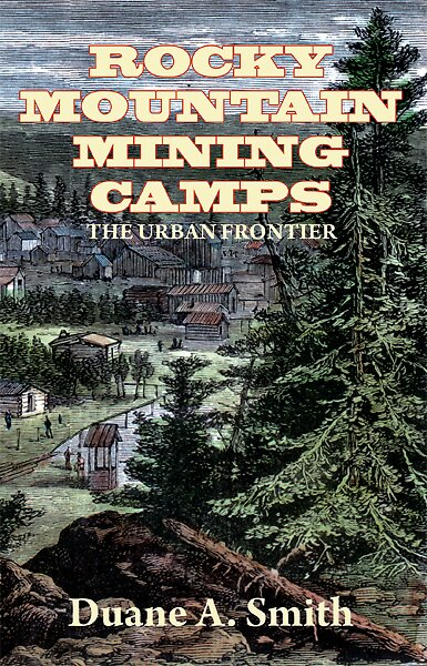 Rocky Mountain Mining Camps book cover by aphcreative