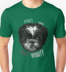 Shih-Tzu Says Woof! Woof! Unisex T-Shirt