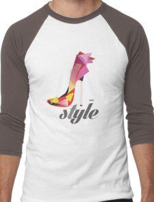 Style high heels Men's Baseball ¾ T-Shirt