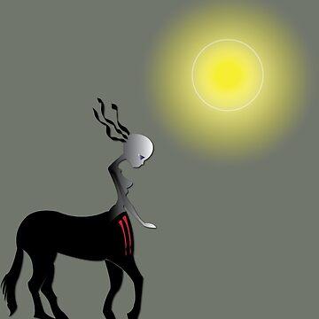 Alien Centaur by misododgy