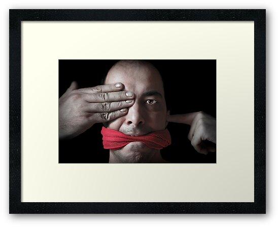 ... no evil by Paul Grinzi