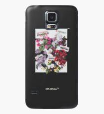 flowershop offwhite Case/Skin for Samsung Galaxy